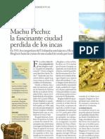Machu Picchu, la ciudad perdida de los Incas