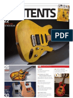 Guitar Buyer Magazine Issue 108 Contents