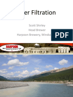 Beer Filtration- Harpoon
