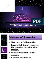 Whats Special About Ramadan