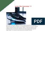 Zapatillas Inteligentes Nike Hyperadapt 1
