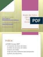 BD Práctica Access 1