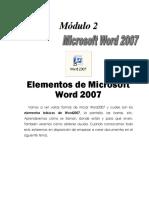 WORD BÁSICO. MODULO 2