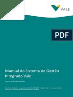 Manual Sistema de Gestão Integrado Vale