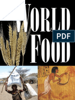 Mary Ellen Snodgrass World Food an Encyclopedia of History, Culture, And Social Influence From Hunter-Gatherers to the Age of Globalization