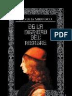 De La Dignidad Del Hombre - Giovanni Pico Della Mirandola
