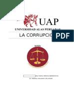corrupcion de funcionarios