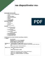 Cursuri PDM (Programarea dispozitivelor mobile)