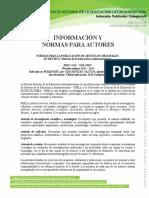1. NORMAS EN ESPAÑOL. rev. dsa. 14 OCT. 2012