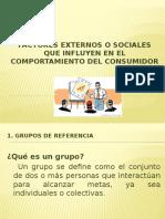 Factores Externos o Sociales Que Influyen en El