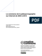 Etude de la Pedoporno sur le Net 2000/2010