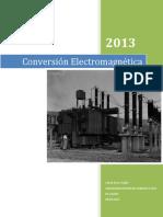 Conversión Electromagnetica 2-Enero 28-2013