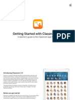 Getting Started With Classroom 20