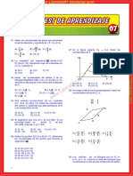 ejercicios, problemas de geometría analitica