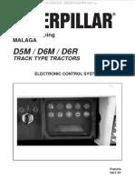 Manual Electronic Control System Caterpillar d5m d6m d6r Track Type Tractors Components Sensors Valves