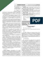 Ordenanza que regula el Proceso de Presupuesto Participativo 2018 en el distrito de Mala