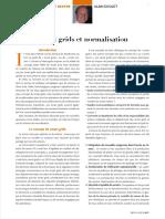 Smart Grids Et Normalisation