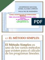 Método Simplex 1