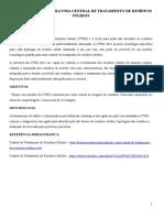 Plano de Negocio Para Uma Central de Tratamento de Residuos Solidos