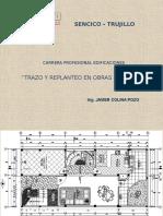 Tecnicas y Metodos Trazo en Una Edificacion