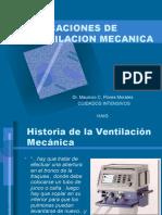 Indicaciones de Ventilacion Mecanica 2017