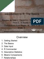 Intro to R Presentation