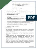 GFPI-F-019_Guia_de_Aprendizaje Organizar Eventos Formato Nuevo 2017