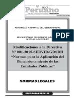 Res055 2016 SERVIR PE Version El Peruano