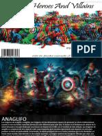Marvel Comics Imagenes Anaglíficas Teorías del Diseño Colegio Nueva Constitución I.E.D.