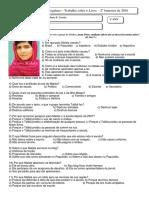 Malala 1 Ano