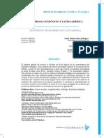 Desarrollo Endogeno en America Latina