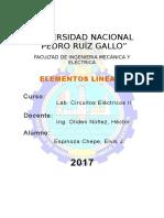 Elementos Lineales en C.A.