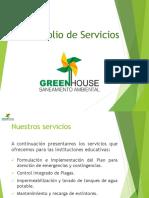 Portafolio de Servicios Green House Ins. Edu