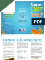 7827 LCFASD Summer Camp Brochure 2017