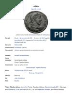 Juliano (Imperador) – Wikipédia, A Enciclopédia Livre