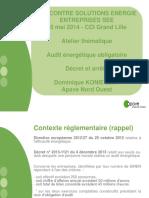 APAVE- Audit Energetique Mai 2014