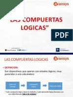 SESION 9 Compuertas Logicas