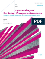 Conference Proceedings of the  Design Management Academy 2017 Volume 3