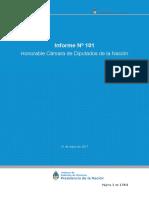 INFORME 101 - HCDN