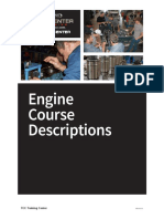 Training Center Engine Course Descriptions