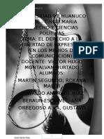 Universidad de Huanuco Monografia