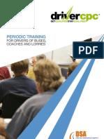 Driver CPC - Periodic Training Leaflet