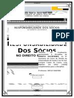 Paper Responsabilidade Dos Socios - Direito Societário