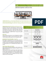 HUAWEI TP3106-70 Immersive Telepresence Datasheet