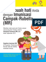 Poster Imunisasi MR