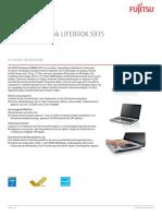 Ds Lifebook s935 De
