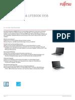Ds Lifebook s936 De