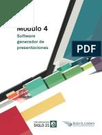 Software Generador de Presentaciones. Recursos Informáticos. UES21 Lect. 4