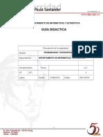 Guia Estudio Probabilidad Estadistica UFPS 28 08 Ingenierias