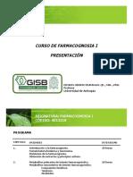 1. Presentación curso e introducción a la farmacognosia
